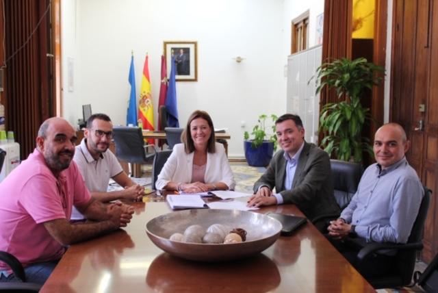 MOVyTRANS firma el contrato para la redacción del PLAN DE MOVILIDAD URBANA SOSTENIBLE DE ÁGUILAS
